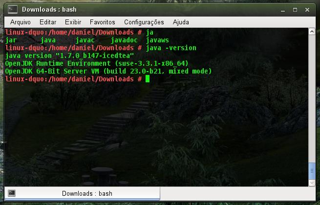 Verificando JDK no Linux