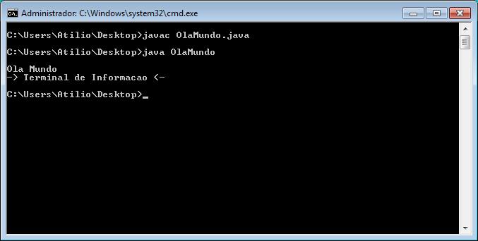 Compilação e Execução em Windows