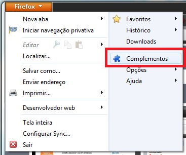 Complementos no Firefox