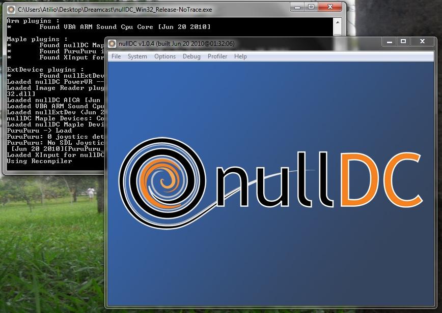 NullDC - Tela Principal
