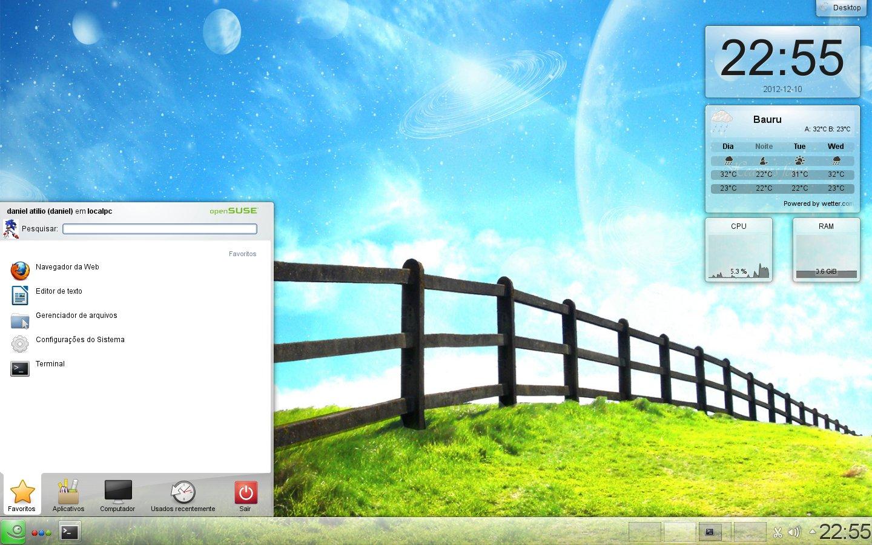 Ambiente X - KDE