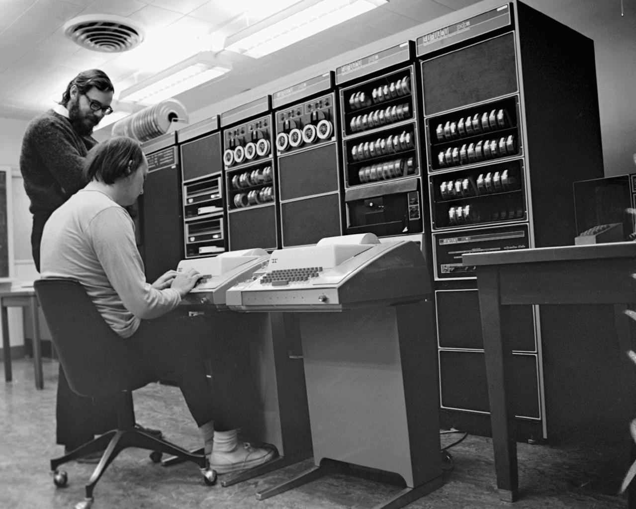 Dennis Ritchie e Ken Thompson