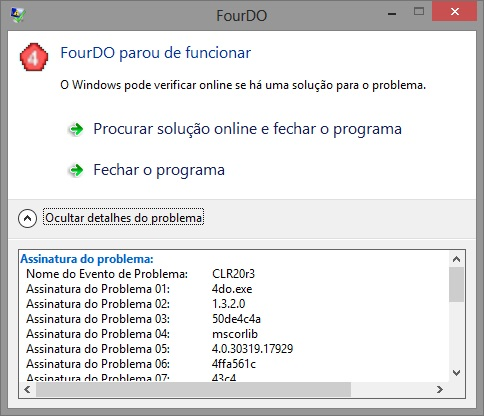 4DO - Erro