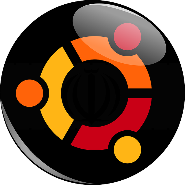 Logo da distro Ubuntu