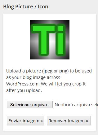 Setando o ícone