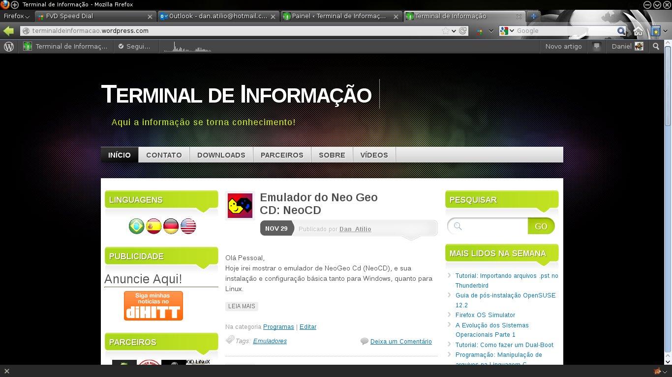 Segundo design - Terminal de Informação