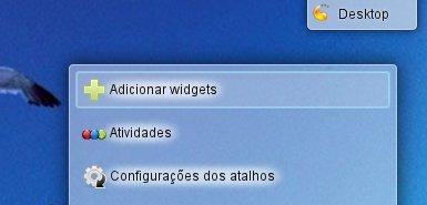 Adicionar Widget