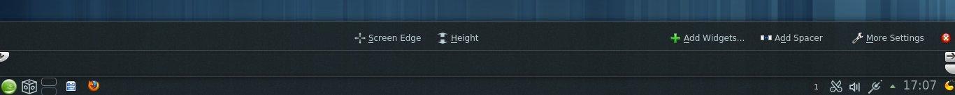 Acessando opções da barra de Tarefas