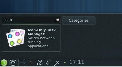 Adicionando a barra de tarefas com ícones