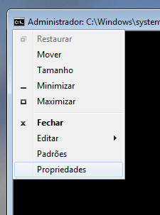 Propriedades do Prompt