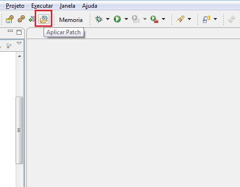 Botão de aplicar patch