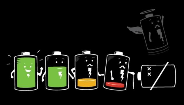 Vida de uma bateria