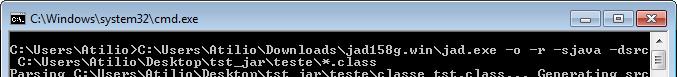 Execução no MS-DOS