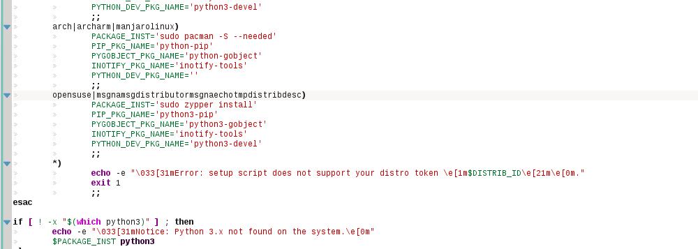 Edição do install.sh