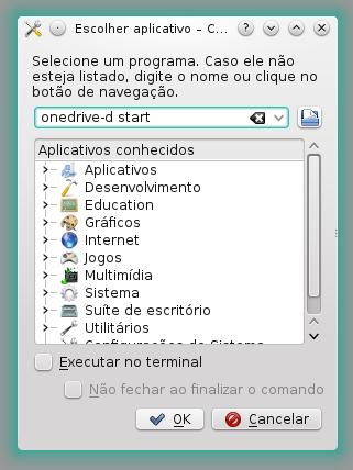 Configurando o aplicativo