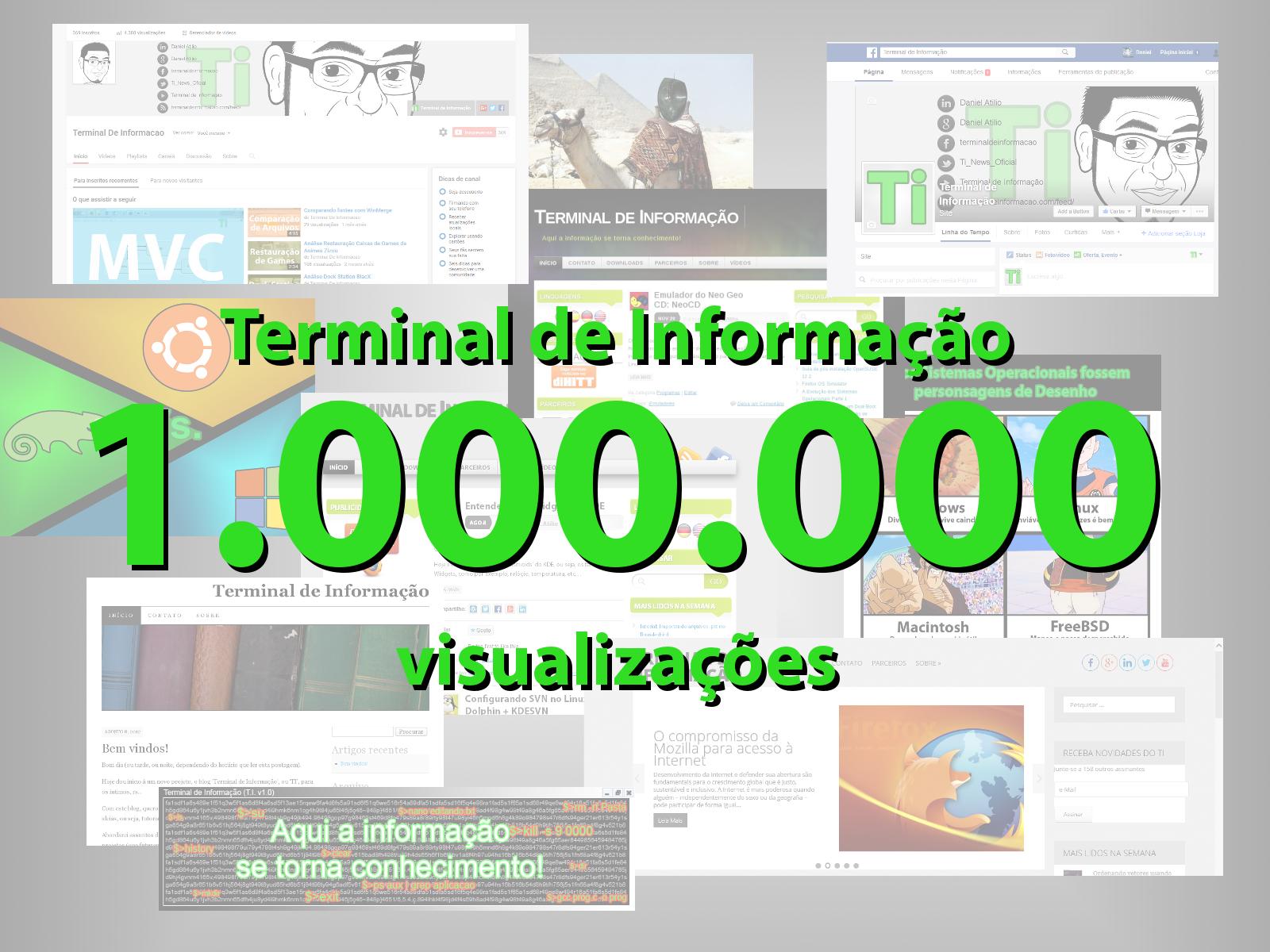 1.000.000 de Visualizações
