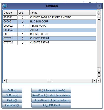 BrGetDDB - Exemplo 1