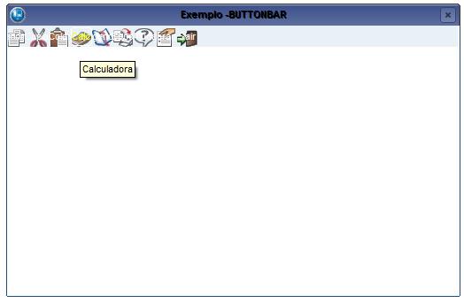 ButtonBar - Exemplo 1