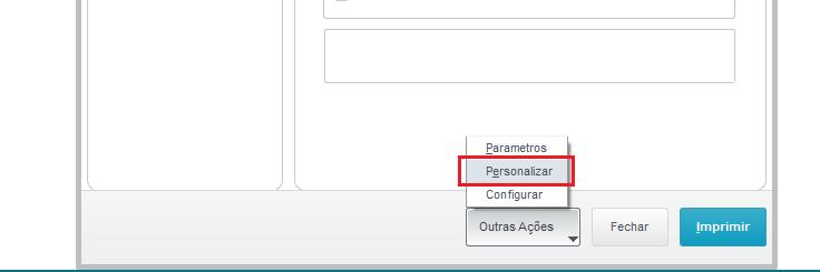 Personalizar TOTVS Report