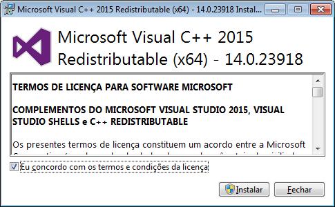 Instalação do C++