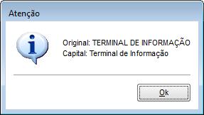 Capital - Exemplo 1
