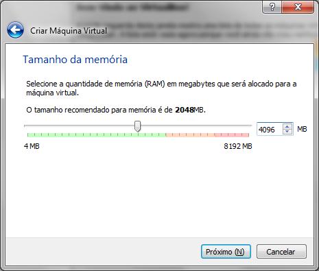 Configurando a memória RAM