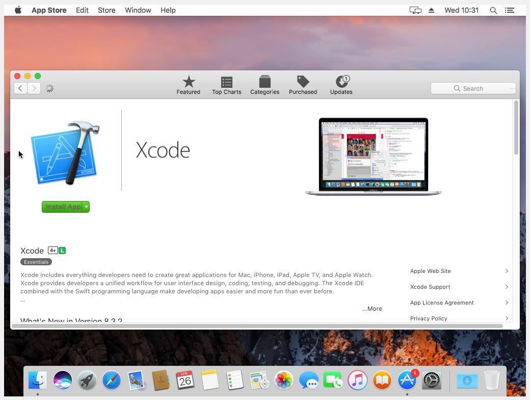 Instalando o Xcode