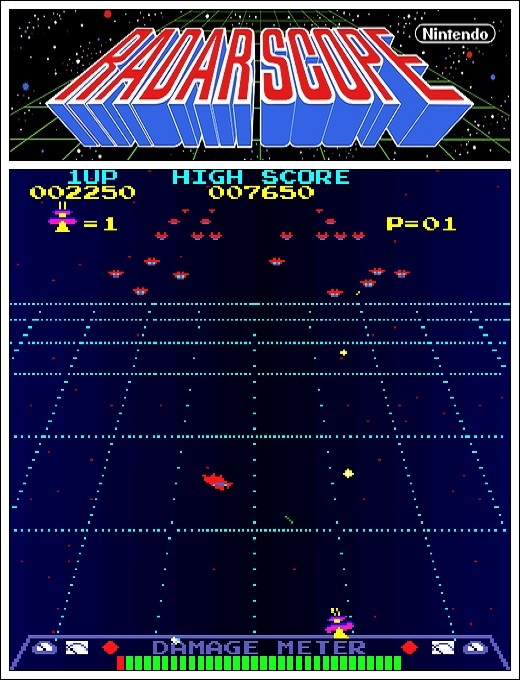 Radar Scope, tentativa da Nintendo nos arcades