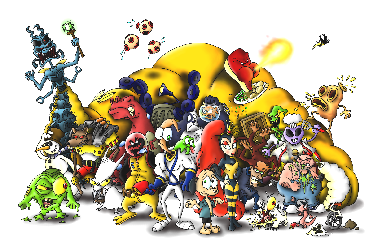 Personagens do EarthWorm Jim