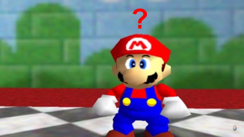 Mario confuso