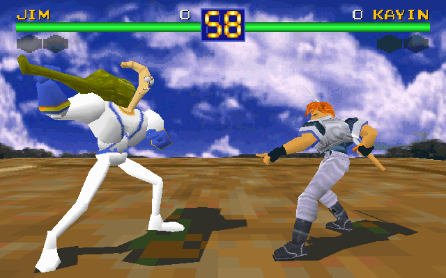 Jim no Battle Arena Toshinden
