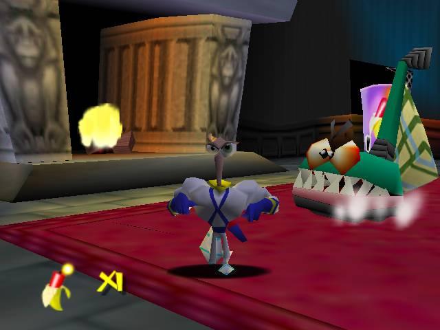 EarthWorm Jim 3D para Nintendo 64