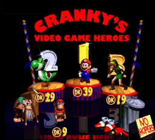 Piada feita no jogo Donkey Kong Country 2