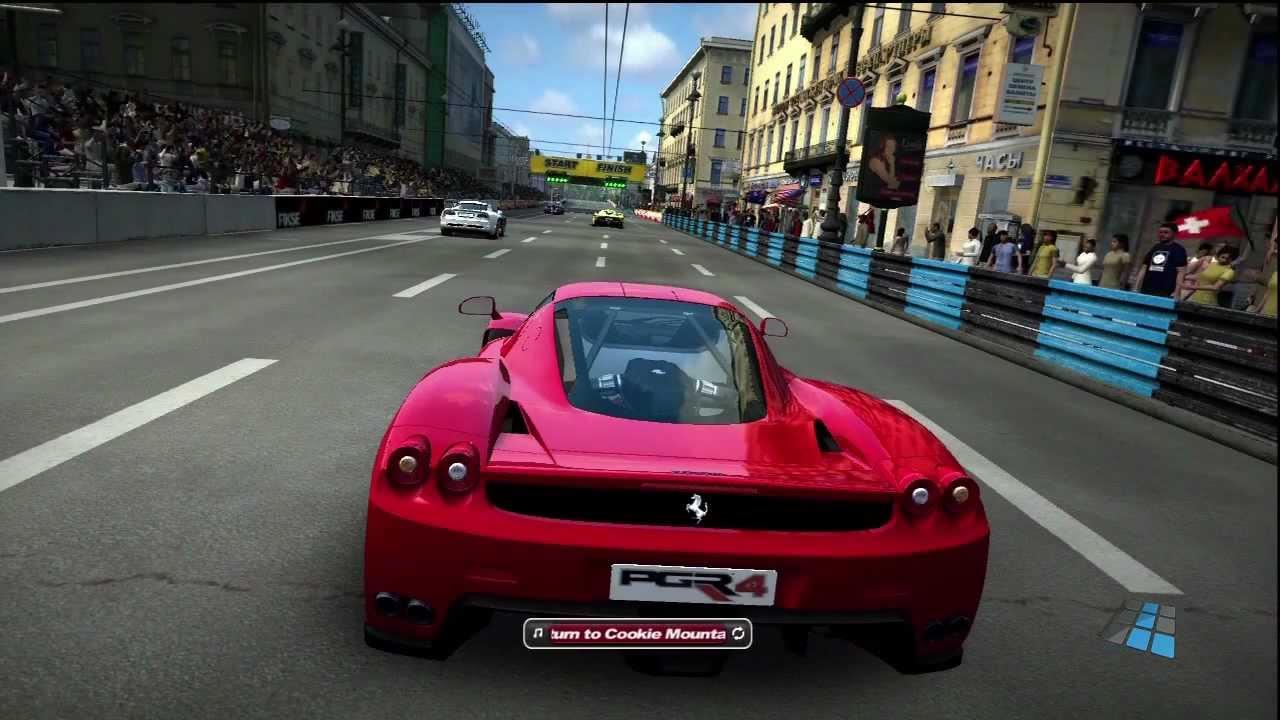 Project Gotham Racing 4, último PGR lançado
