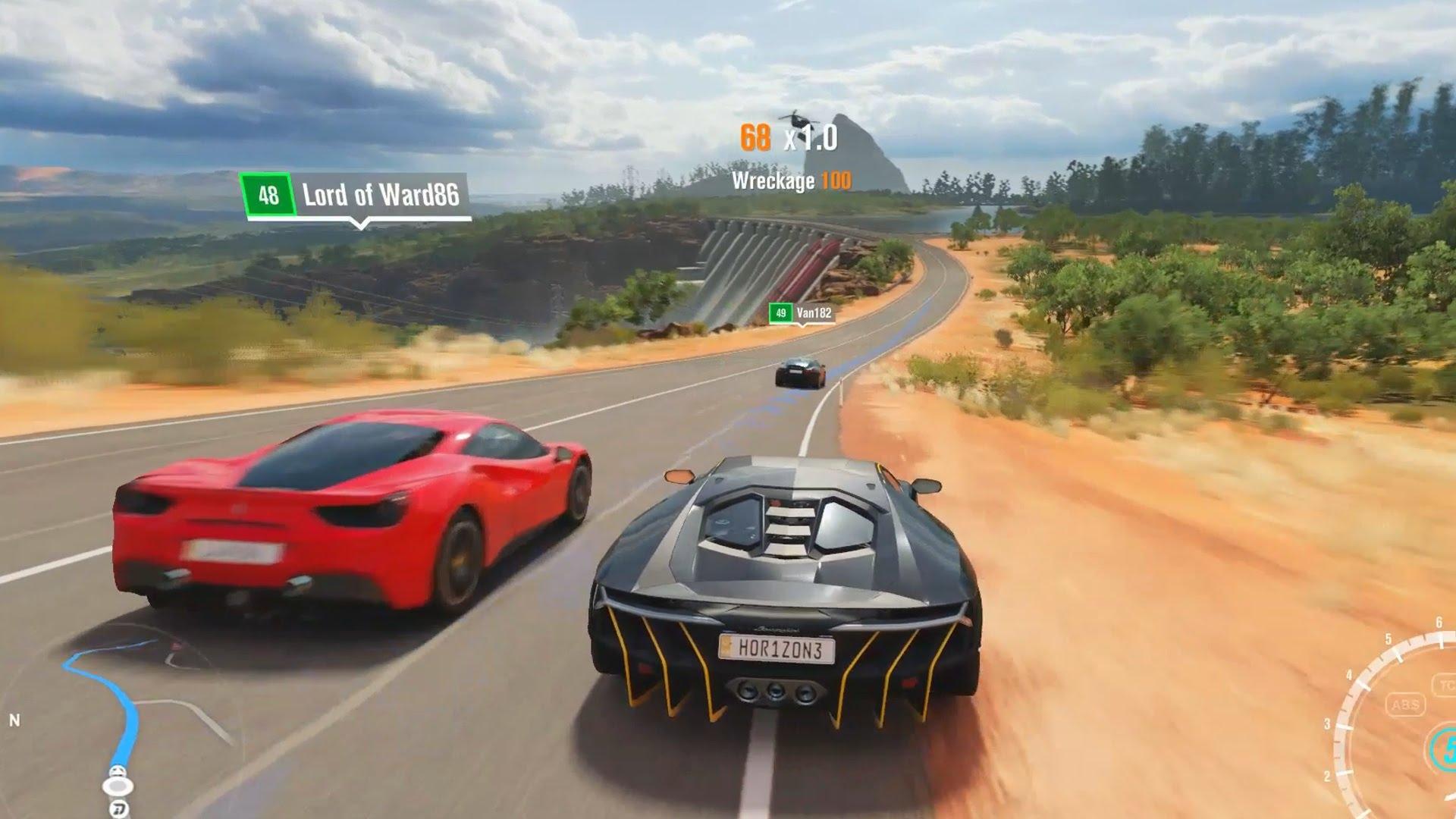 Forza Horizon 3, desenvolvido pela Playground Games