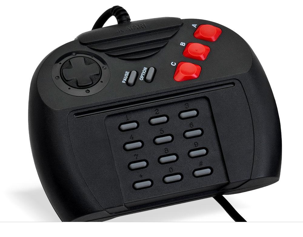 Controle do Atari Jaguar