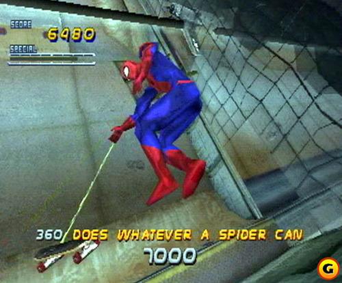 Homem Aranha no THPS 2