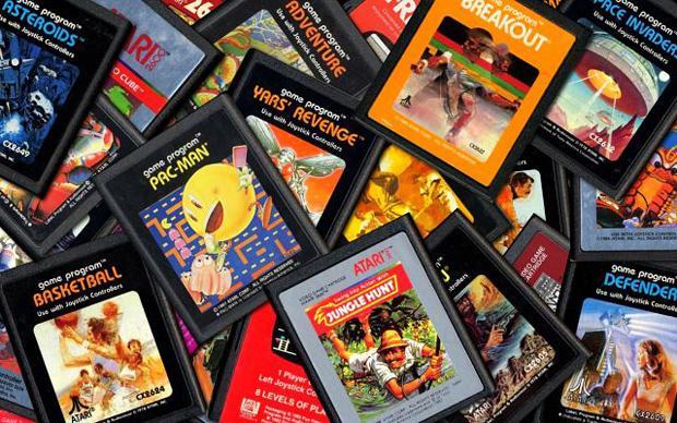 Inúmeros games para o Atari