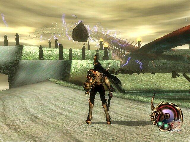 Otogi, jogo feito pela From Software (Dark Souls) e publicado pela SEGA