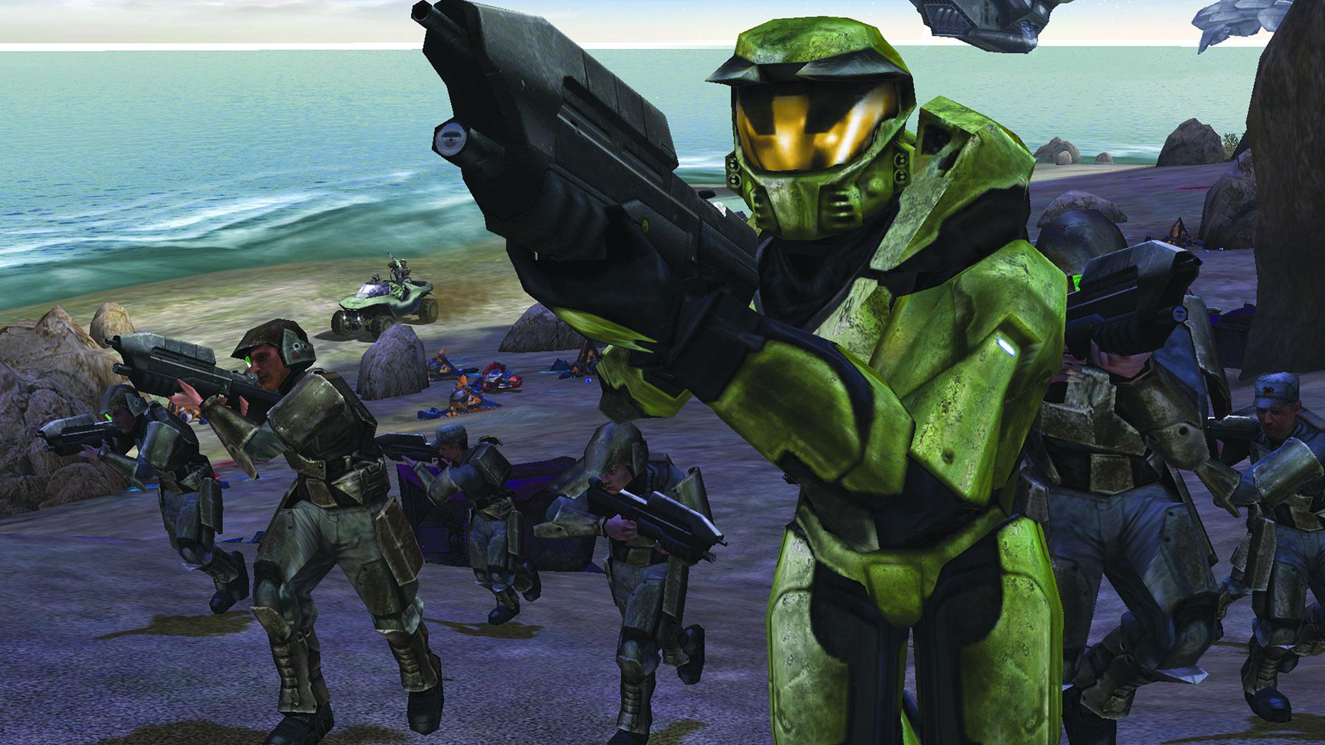 Halo Combat Evolved lançado para o primeiro Xbox