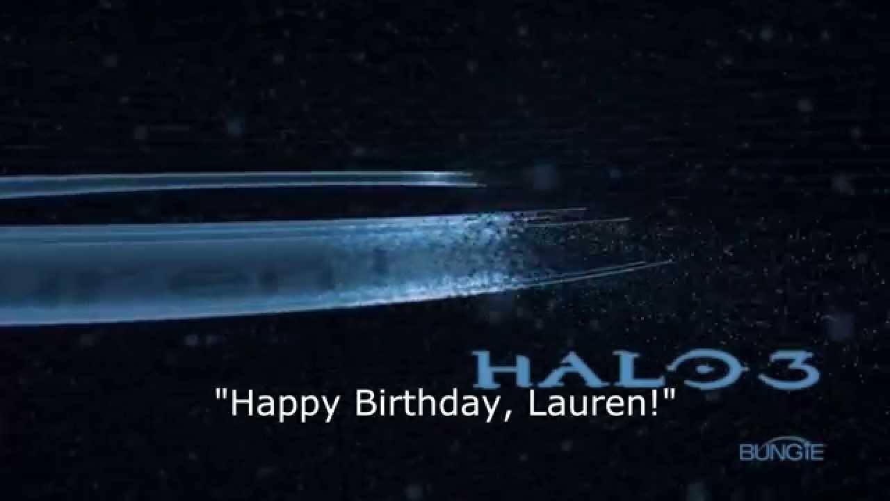 Mensagem no Halo 3