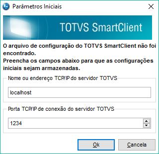 Definindo o ip e a porta de conexão