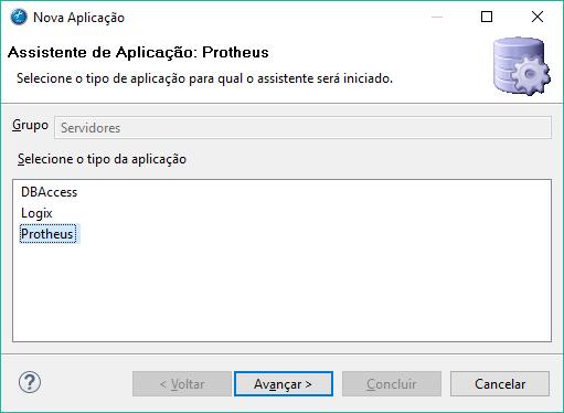 Aplicação Protheus (AppServer)