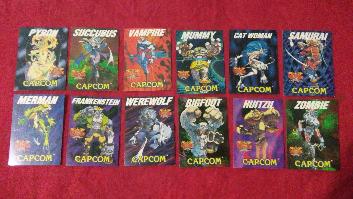 Cards do Darkstalkers