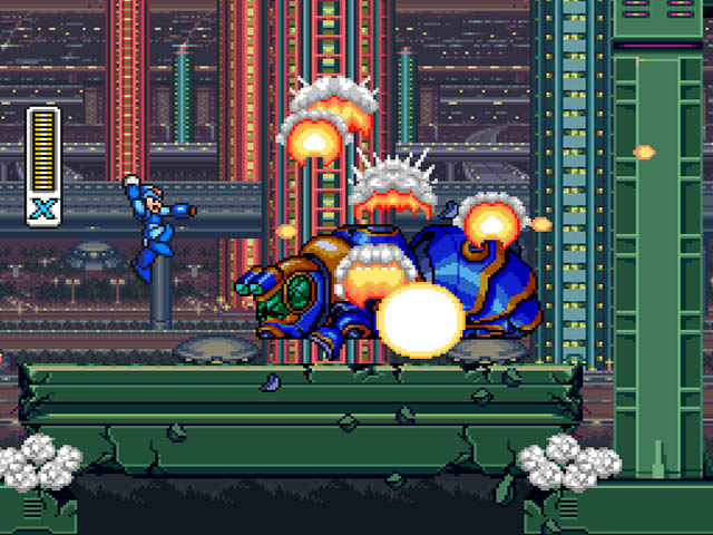 Megaman X, exclusivo do Super Nes
