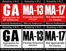 Antigas classificações da SEGA