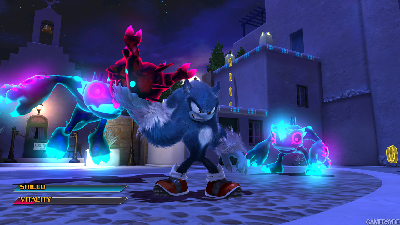 Sonic tomou um Whey e quis dar uma de God Of War rs
