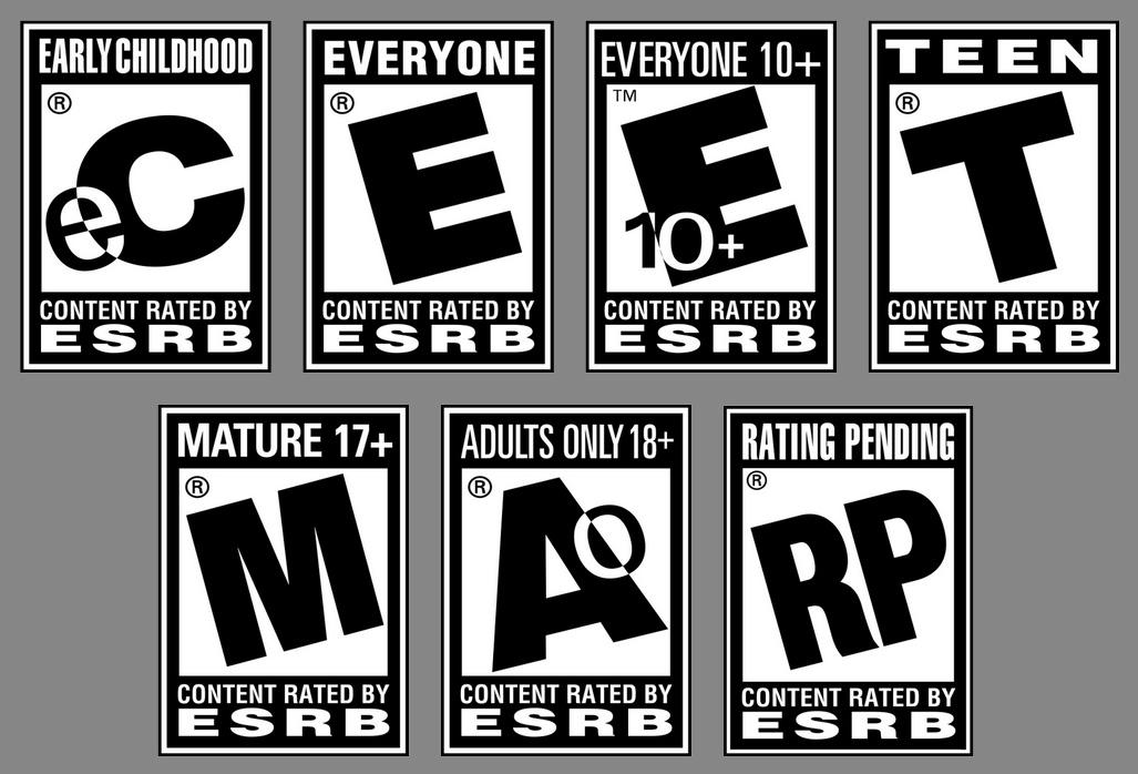 Selos de classificação da ESRB