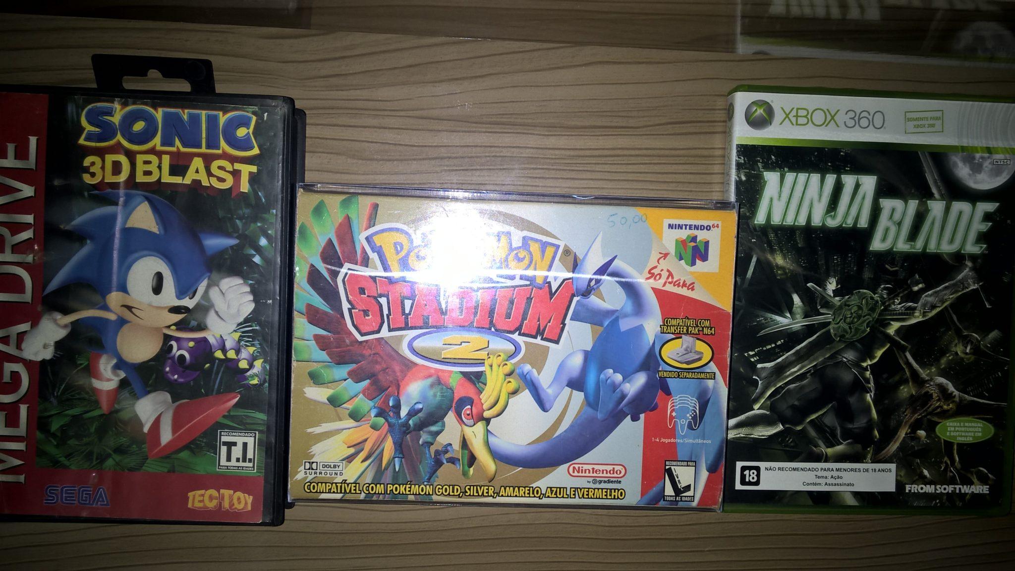 Exemplos de jogos no Brasil (T.I. TecToy, Livre Gradiente, e o atual)