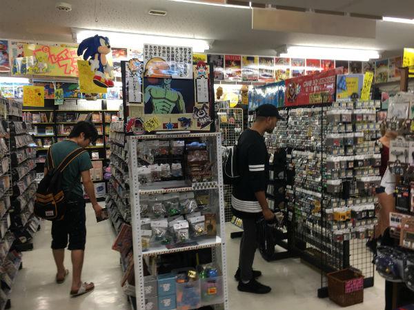 Loja de games no Japão